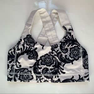 Lululemon All Sport sports bra in RARE Laceoflage
